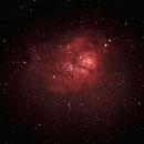 M8 Lagoon Nebula,                                Aydın
