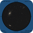 M81, M82 and NGC 3077, Eyepiece View,                                Steven Bellavia