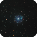 NGC 6543 The Cat's Eye Nebula,                                Toshiya Arai