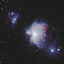 Grande Nébuleuse d'Orion - M42  ED80  ,                                Laurent