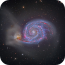 M51 whirlpool galaxy (Remote control from China - Teamviewer),                                Lluis Romero Ventura