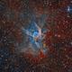 NGC 2359 Thor's Helmet (TEC160+RH305),                                Alberto Pisabarro