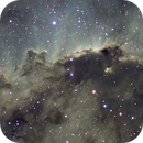 NGC 6188 - The Wall In Ara in Narrow Band,                                Ian Parr