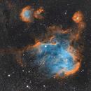 Running chicken IC 2948, IC 2872 , NGC 3766,                                Giritharan Govindasamy