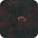 C27 Crescent Nebula - Ha-HOO -Meade 80 Ed triplet -Orion flattener-ASI 1600 MM-Pro (crop),                                  Adel Kildeev