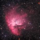 NGC 281, the Pacman nebula,                                Jari Saukkonen