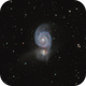 M51 The Whirlpool Galaxy,                                Kevin Ross