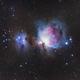 Orion and Running Man Nebulae,                                stricnine