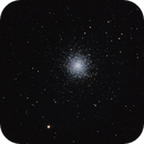 M 13 ammasso globulare in Hercules - 5 giugno 2013,                                Giuseppe Nicosia