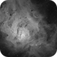 Messier 8 Lagoon Nebula - Halpha,                                Maicon Germiniani