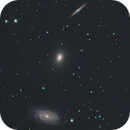 NGC5981, NGC5982 & NGC5985 LRGB - The Other Triplet,                                andrea tasselli