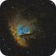 Pacman Nebula,                                John Willis