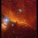 NGC 2024, Barnard 33, IC 434,                                F48I3N
