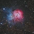 M20: The Trifid Nebula,                                Arvind H.