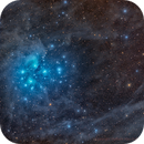 Dusty Wide field Subaru aka Pleiades aka M45 ,                                Hytham