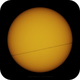 ISS crossing the Sun,                                Andrei Dumitriu