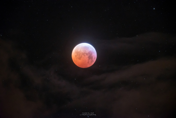 Moon Eclipse 2019 First picture of Card (One Shot),                                Maxime Tessier