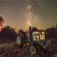 Milky Way  and Mars,                                Tom Robbe