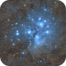 Pleiades (M45),                                Gianni Fardelli