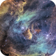 IC2944 – The Running Chicken Nebula – Hubble Pallete,                                Terry Robison