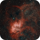SH2-132 Lion Nebula,                                HaSeSky