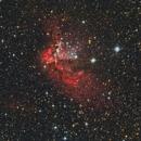 NGC 7380 Wizzard Nebula,                                Zoltán Bach