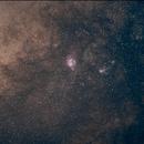 Lagoon Nebula - M8,                                Christophe VOUTSINAS