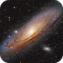 M 31 - Andromeda galaxy,                                Jerry@Caselle