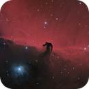 Horsehead Nebula (Barnard 33) and NGC 2023 in Orion – HaLRGB,                    Steve Milne