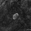 NGC 6888, The Crescent Nebula in Ha,                                Scott