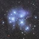 M45 Pleiades,                                Dave Watkins