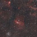 Ngc 7635, Around The Bubble Nebula,                                Vlaams59