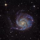 The Pinwheel Galaxy in Ursa Major,                                StarSurfer Carl