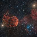 Jellyfish Nebula IC443,                                photoman888