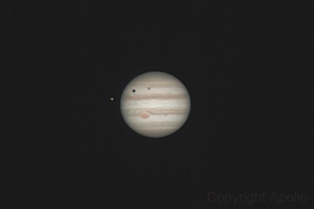 Jupiter,                                Apollo