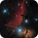Horsehead, Flame, and NGC2023,                                mlewis