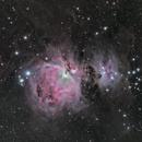Orion Nebula M42 / Running Man M43,                    Michael Poelzl