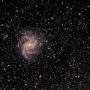 Fireworks Galaxy (NGC6946) LRGB+Ha,                                  PepeLopez