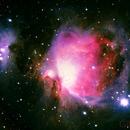 M42 Great Orion Nebula (with bad subframes),                                Gilbert Ikezaki