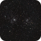 NGC 869 Double Cluster,                                Hubble_Trouble