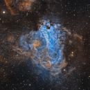 M 17 - The Omega Nebula,                                Sasho Panov