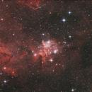 IC1805 - heart nebula,                                BrunoD