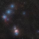 Orion-Widefield with StarAdventurer and 100mm,                                Jonas Illner