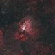 M17 - Omega Nebula (Bicolor palette),                                Diego Cartes