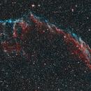 NGC6992 Veil Nebula HOO,                                Matthieu Martin