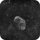 """NGC6888 Ha  First Light with the GSO 12"""" F/4 Newton,                                Станция Албирео"""