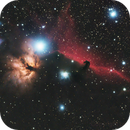 IC 434 (Horse nebula),                                Redek