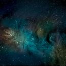 Cone Nebula in narrowband,                                Mike