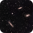 First attempt at the Leo Triplet,                                Gowri Visweswaran