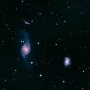 NGC3718 and NGC3729,                                Seymore Stars